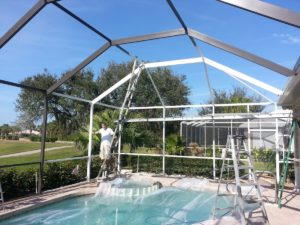 Osprey Home - JPM Pool Cage Paint2