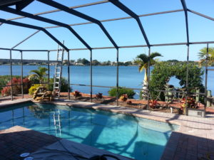 Tampa pool cage painters