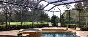 Oaks Country Club Poolcage
