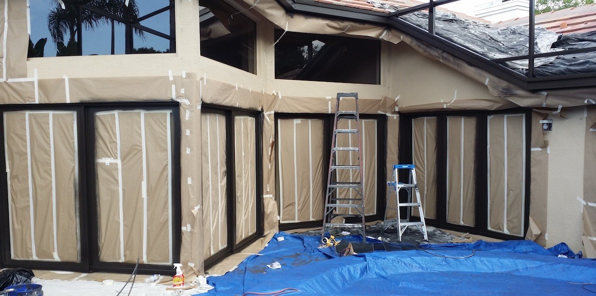 Jpm Pool Cage Painting And Screen Enclosure Restoration