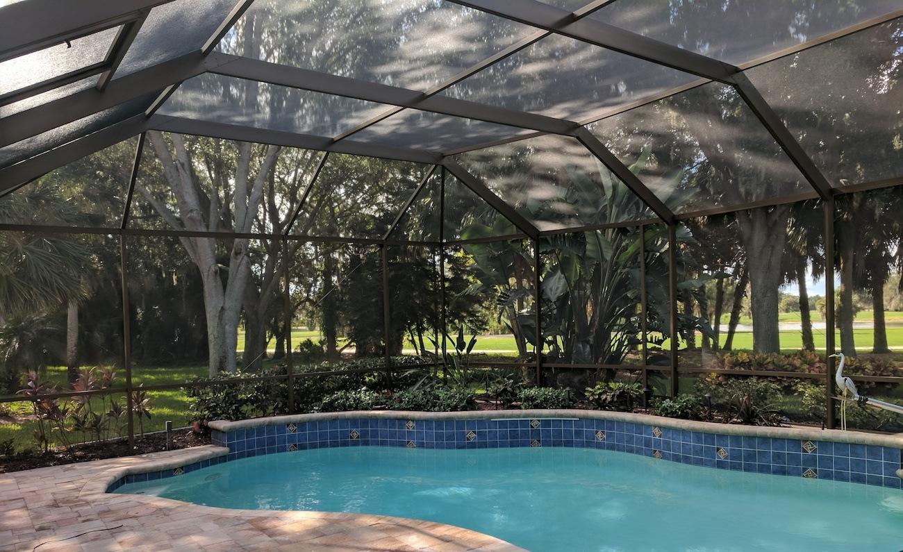 Matching Patio Sliding Glass Doors With Your Pool Cage